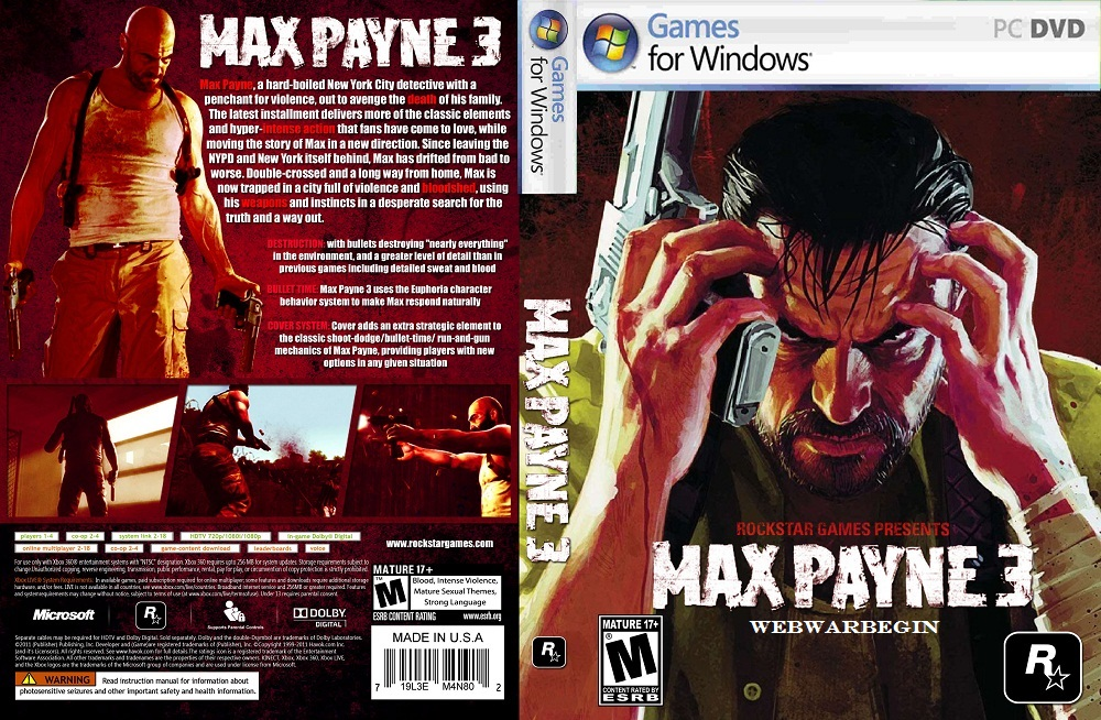 Max Payne 3 After The Fall Pc Techie Pirate